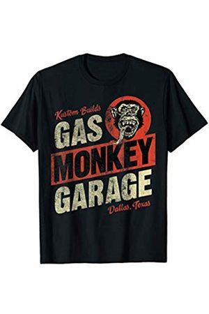 Gas Monkey Garage Kustom Builds Text Stack Logo T-Shirt