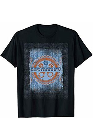Gas Monkey Garage Gear Distressed Poster T-Shirt