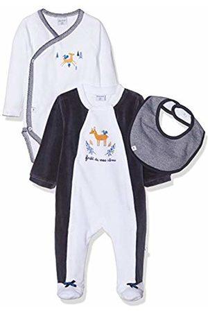 ABSORBA Baby Girls' 7p54121-ra Ens Dors Bien Sleepsuit, (Marine 04)