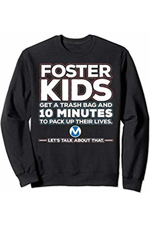 From Orphan To CEO Foster Kids Get a Trash Bag and 10 Minutes to Pack Up Sweatshirt