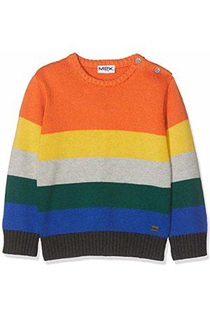 MEK Baby Boys Top Maglia Multicolor Girocollo Jumper, 01 997
