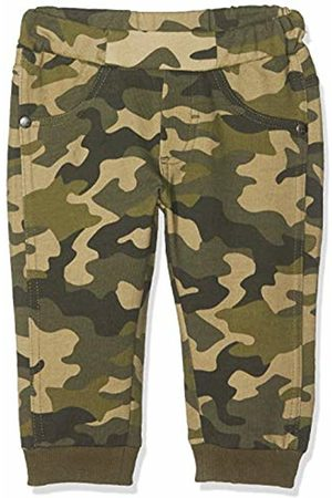 MEK Baby Boys Pantalone Felpina Garzata Stampa Camouflage Trouser