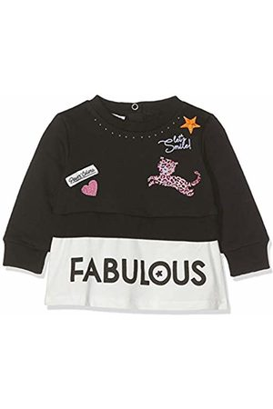 MEK Baby Girls Top Felpina Garzata Finta Doppia Sports Hoodie