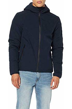 GAS Jeans Men's N. Racker Sports Jacket, (Navy 0194)