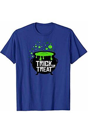 Miftees Trick or Treat Happy Halloween Cauldron T-Shirt