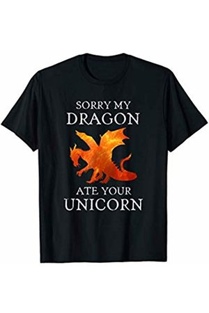 My Dragon Ate Your Unicorn Tees Sorry Funny Gift T-Shirt