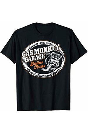 Gas Monkey Garage Retro Vibrant Hot Rod Logo T-Shirt