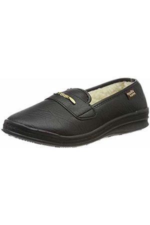 Manitu-Home Women's 340218 Open Back Slippers