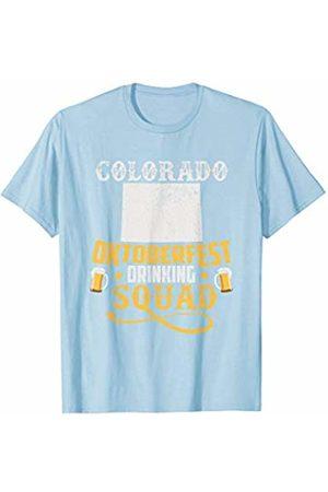 BUBL TEES Colorado Oktoberfest Drinking Squad Beer Festival T-Shirt