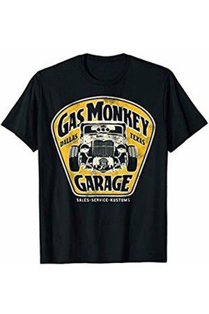 Gas Monkey Garage Muscle Car Sign Logo T-Shirt