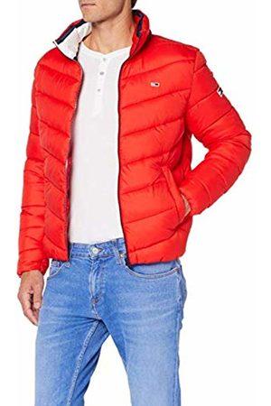 Tommy Hilfiger Men's TJM Essential Puffer Jacket (Flame Scarlet 667)