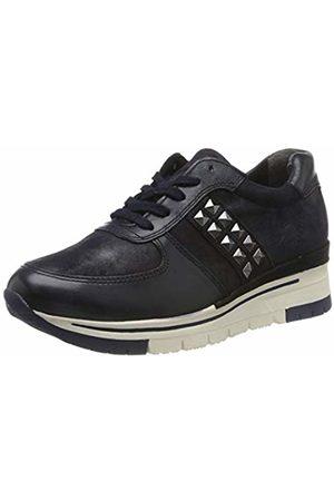 Tamaris Women's 1-1-23720-33 Low-Top Sneakers, Navy MET. 873