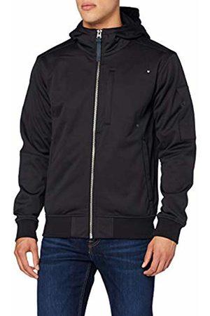 G-Star Men's City Zip Hooded Softshell Jacket, (Dark 6484)