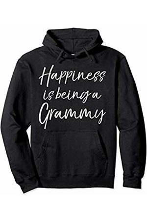 Love Mama Life Design Studio Women Hoodies - Cute Grandmother Gift Women's Happiness is Being a Grammy Pullover Hoodie