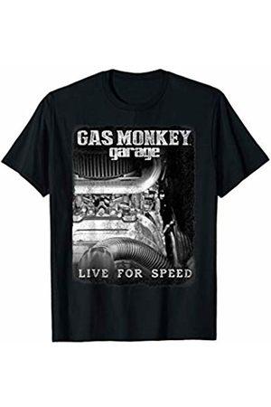 Gas Monkey Garage Women T-shirts - Live For Speed Engine Poster T-Shirt