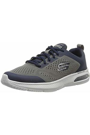 Skechers Men Trainers - Men's DYNA-AIR Trainers, (Navy Charcoal Mesh/Synthetic/Trim Nvcc)
