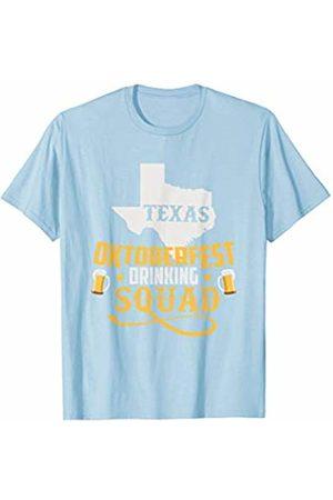 Oktoberfest Apparel by BUBL TEES Texas Oktoberfest Drinking Squad Beer Festival T-Shirt