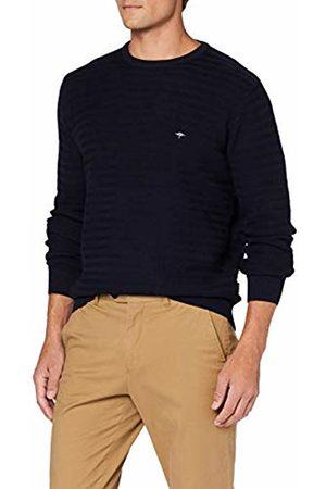 Fynch-Hatton Men's Pullover, O-Neck, Structure Jumper