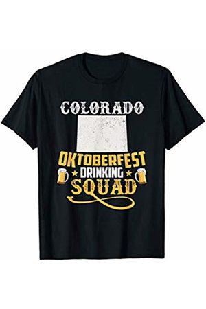 Oktoberfest Apparel by BUBL TEES Colorado Oktoberfest Drinking Squad Beer Festival T-Shirt