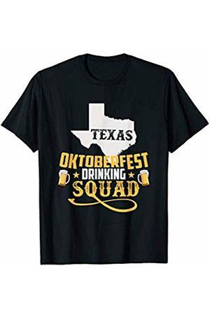 BUBL TEES Texas Oktoberfest Drinking Squad Beer Festival T-Shirt