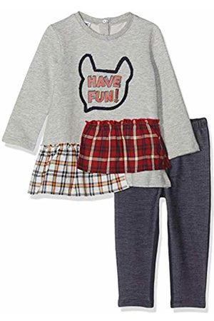 MEK Baby Girls Completo 2 Pezzi Top Felpina Garzata E Leggings Clothing Set