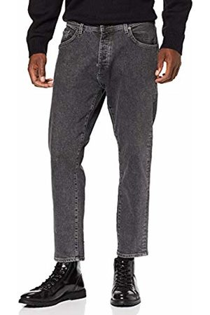 Selected Homme NOS Men's Slhrelaxcrop-aldo 3011 Gry St JNS W Noos Straight Jeans, Denim