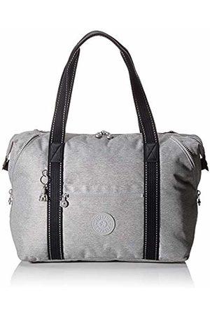 Kipling Peppery Beach Bag 58 cm, Synthetic, Chalk Grey
