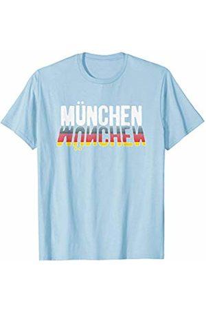 Oktoberfest Apparel by BUBL TEES Modern Munchen Bavaria Oktoberfest Beer Festival T-Shirt