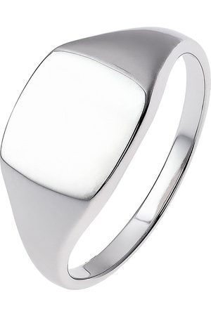 The Love Silver Collection Sterling Silver Oval Signet Ring