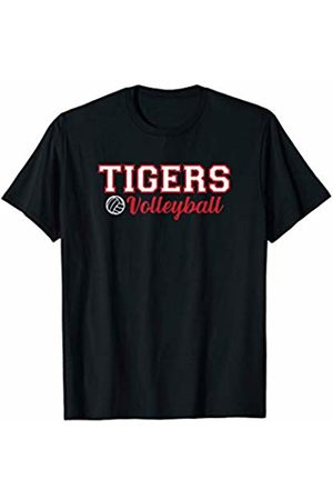 GameDay Apparel Co Volleyball PE Kit - Tigers Volleyball School Mascot Name Team Spirit Sports T-Shirt