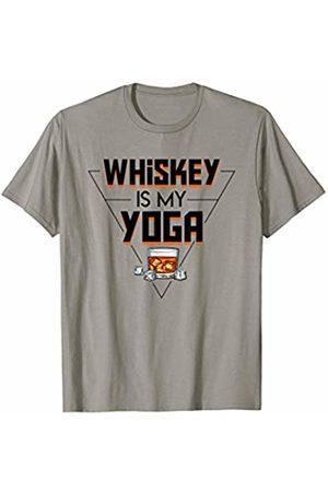 Shirt funny gift Whiskey Is My Yoga Cool Saying Whiskey Yoga Shirt Gift