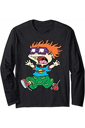 Nickelodeon Chucky Running Away Center Design Long Sleeve T-Shirt