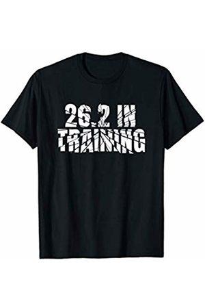 Runner Half Marathon Training Gear Marathon 26.2 In Training Running Gear - Runner Quote T-Shirt