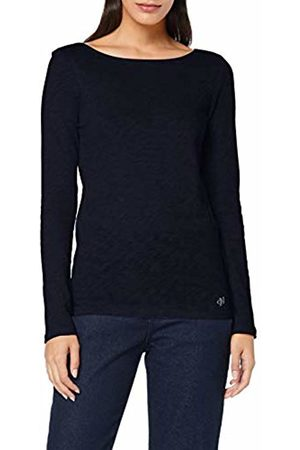 Marc O' Polo Women's 907226152199 Longsleeve T-Shirt, (Midnight 812)