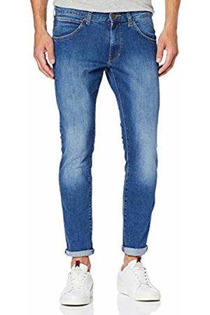 Wrangler Men's Greensboro Straight Jeans , Blau (Used Rocks 36s)