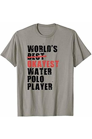Swesly Water Polo Player World's Best Okayest Water Polo Player ACY126a T-Shirt