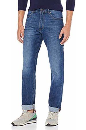 Wrangler Men's Greensboro Straight Jeans , Blue (BURNT UP 77P)