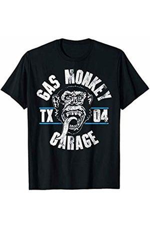 Gas Monkey Garage Text Stack Logo T-Shirt
