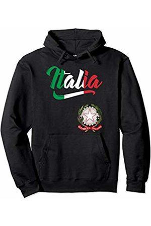 Tee Styley Women Hoodies - Italia Flag Italian Coat Of Arms Italy Italiano Men Women Pullover Hoodie