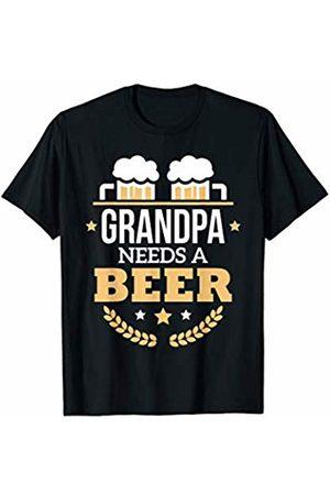 Oktoberfest Apparel by BUBL TEES Grandpa Needs A Beer Oktoberfest T-Shirt