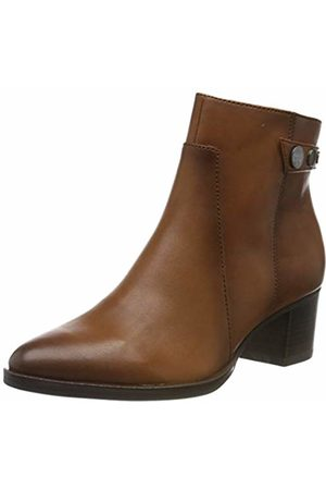 Details about Tamaris 26406 Women's Muscat Brown Ankle Boots
