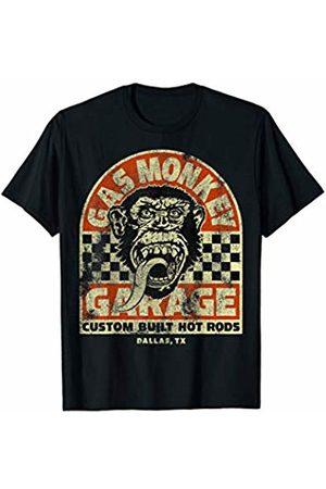 Gas Monkey Garage Custom Build Hot Rods Checkered Poster T-Shirt
