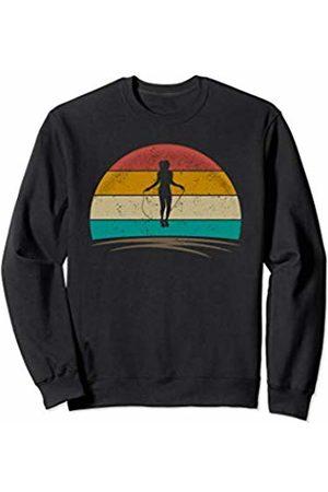 Wowsome! Rope Jump Shirt Retro Vintage Rope Skipping Gifts Women Sweatshirt
