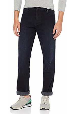 Wrangler Men's Greensboro Straight Jeans , Blue (Fuzzed Out 77f)