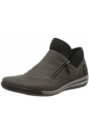 Rieker Women's M3082-45 Ankle Boots, (Fumo Schwarz 45)