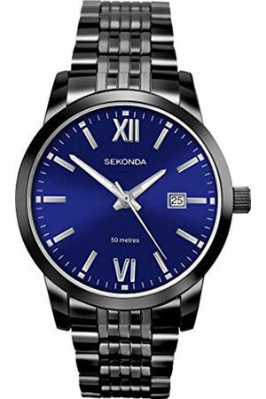 Sekonda Mens Analogue Classic Quartz Watch with Stainless Steel Strap 1188