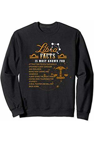 67e8d5fd Libra Facts Awesome Zodiac Sign Horoscope Gift For Men Women Sweatshirt