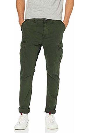 Superdry Men's Surplus Cargo Trouser, (Emerald Vz7)