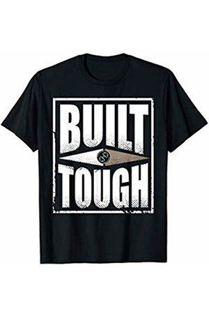 Bulk Tribe Fitness Gym Apparel Men T-shirts - Bulk Tribe Built Tough Fitness Gym Workout Apparel T-shirt