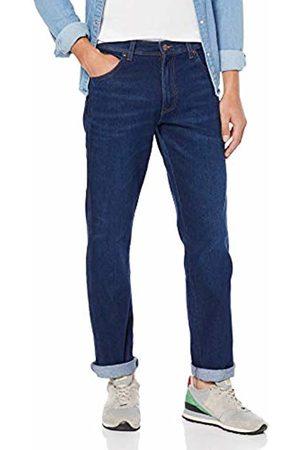 Wrangler Men's Greensboro Straight Jeans , Blue (STAY WARM 54S)